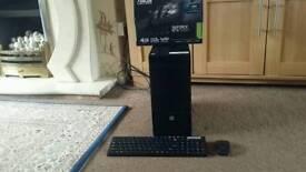 KILLER i5 4th Gen Gaming PC, 8GB DDR3 RAM, 500GB HD, Brand New Geforce GTX 1050 2GB GDDR5, Win10