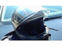 Schuberth C3 helmet matt black (medium) good condition