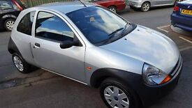 Ford KA 1.3 3dr 2004 (54 reg), Hatchback,SILVER 66000MLS,12MTH MOT BEAUTIFUL CONDITION