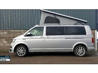 Volkswagen T6 Campervan Long Wheel Base RIB Bed, Reimo Roof, Leather