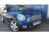 2007 MINI COOPER BLUE 1.6 NEW SHAPE NEW MOT LOW MILEAGE IMMACULATE CONDITION