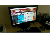 "** 20"" HD Monitor with build in speakers Cheap Bargain **"