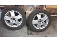 vw/audi 16 inch alloy wheels