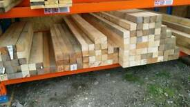 3x3 Sawn Timber (75mm x 75mm)