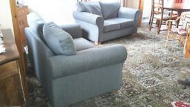 Two grey 2 seater sofas in very good condition. Must be collected from Strood, Kent Friday 8th Dec