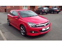 2008 58 REG VAUXHALL ASTRA 1.8i VVT SRI X PACK 59K LOW MILEAGE 19 INCH ALLOYS 3 DOOR 12 MONTHS MOT