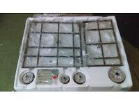 HOTPOINT PKL 641 EX/H Gas Hob - Stainless Steel Ex display