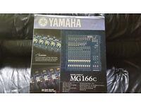N/M Yamaha MG 166c mixer boxed.