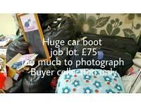Car boot job lot