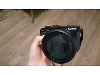 Canon PowerShot G3 X Digital Camera, with Original hood,filter adapter,24-600mm ,rx10