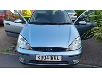 Ford focus zetec 112months mot cheap on fuel and tax central lock remote control key