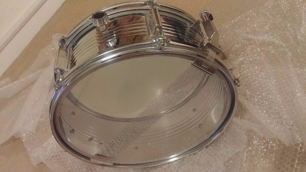 Adam Percussion Snare DrumAs Newin Reading, BerkshireGumtree - Adam Percussion Snare Drum bought for myself a few years ago but put into storage and barely looked at since, I genuinely cant remember ever using it! Includes stand/mount both in A condition