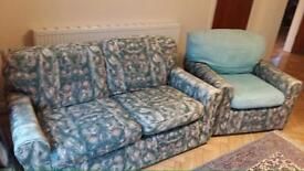 Sofa - Two seater and a one seater