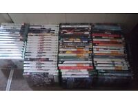 168 xbox, PS3, wii and PC games joblot