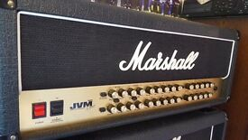 Marshall JVM410H 100W 4 Channel Guitar Amp Head - like new