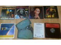 """7 x bob marley vinyls / promo LP's / 12"""""""