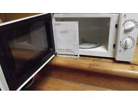 Microwave oven : George brand from ASDA model GMM101W