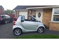 2012 Smart fortwo Pulse CONVERTIBLE.....Only 46,000 miles,,,,,,MOT until April....f/s/h
