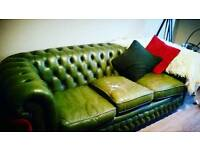 Chesterfield Sofa 3 Seater Needs Gone Today!