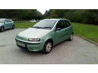 Fiat punto 1.2 full mot full service history 56k 2keys 1 owner