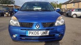 Renault Clio 1.2 Campus 3dr with Long Mot & Service History