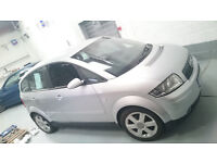 Audi A2 1.4 Petrol - Cambelt & Waterpump recently done and more + 6 month MOT.