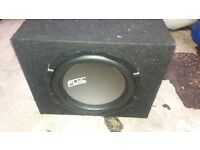 FLY CAR 12INCH 1000WATT BASS BOX