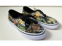 Trainers size 13, Vans Off the Wall Jungle Book. New!