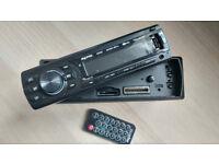 Maxtek Bluetooth USB SD Card AUX Car Audio Stereo Head Unit + Remote