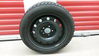 Set of 4 winter tires with rims: Hankook 205/55R16 91T - $500