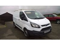 ford transit custom 270 eco-tech, 2013 registration, 2.2 lt turbo diesel , only 34,000 miles