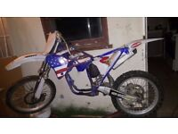 yz 250 rolling chassis