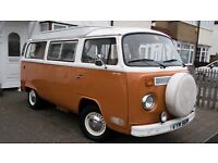 VW T2 Campervan 1974