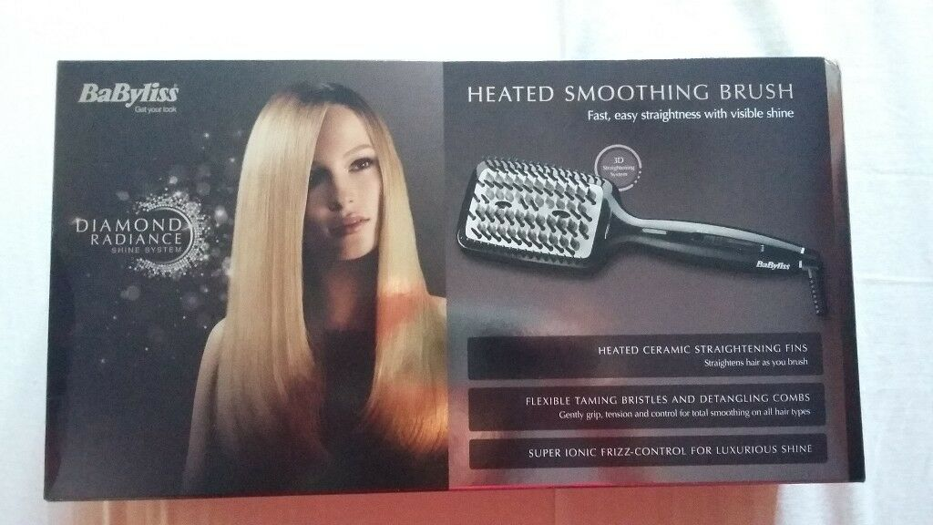 Btand new BaByliss Diamond Heated Smoothing and Straightening