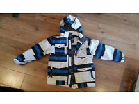 Boys shredz ski jacket age 8