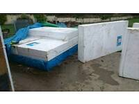 20x Polystyrene Ground Insulation Panels 8'x4'x4""