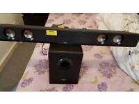 sound bar boxed