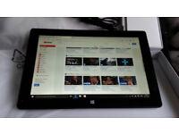 "**Windows 10 Tablet 10"" - 32gb Quad Core - KODI-TV Movies Sports - BOXED LIKE NEW**"