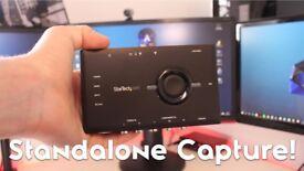 Startech USB2HDCAPS 1080p video gaming capture and live streaming device like Elgato (Wallington)