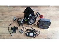 Powerstroll wheelchair motor fits almost all and can fit for you!