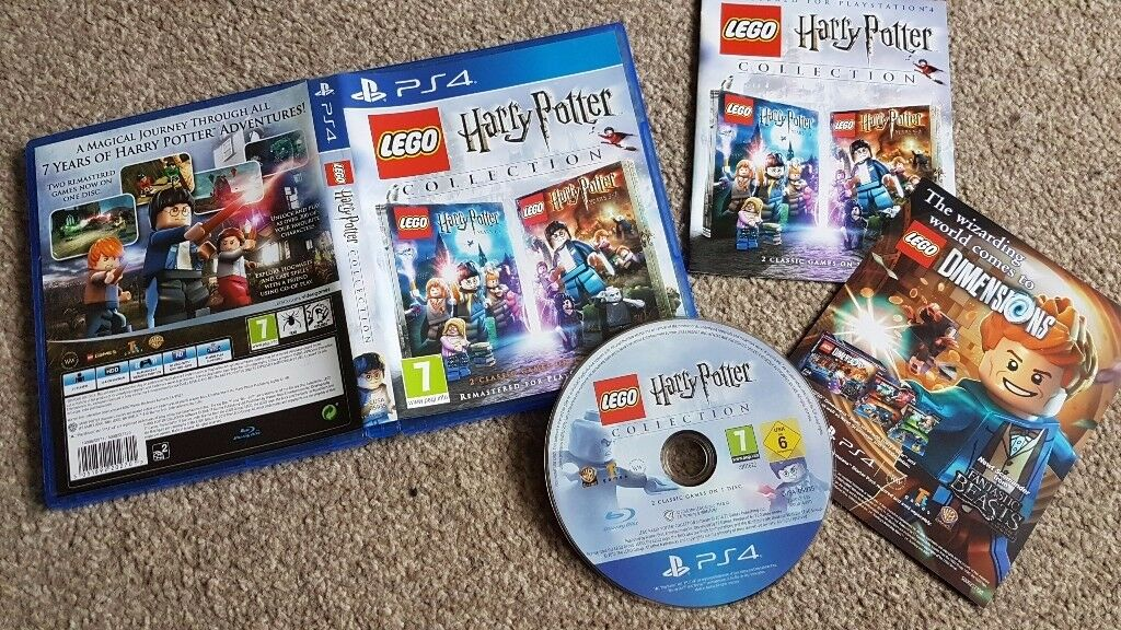 Playstation 4 -- Lego Harry Potter Collection