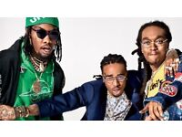 MIGOS TICKETS for London 20th march.