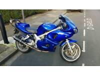 Suzuki SV650s 52 plate, £1300, 41k miles.