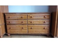 Matching bedroom furniture - Wardrobes, Chest of Drawers, Bedside Lockers, Dressing Table