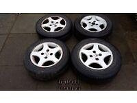 Peugeot Alloy Wheels & Tyres: Peugeot 106, 206, 307, 307, Citroens etc