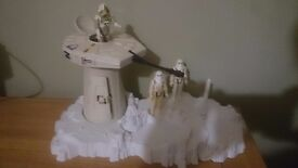 Vintage Star Wars Hoth Turret Set