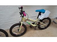 2 KIDS BIKES for 5-7 year olds a girls and boys bike