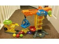 Vtech Toot Toot crane toy