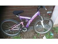 STEALTH, LADIES MOUNTAIN BIKE,,18 INCH FRAME,, 26 INCH WHEEL'S,, 18 GEARS,, GOOD CONDITION