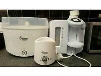 Prep machine, steriliser and bottle warmer